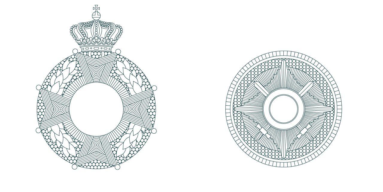 Kanselarij der Nederlandse Orden illustraties, Studio Duel