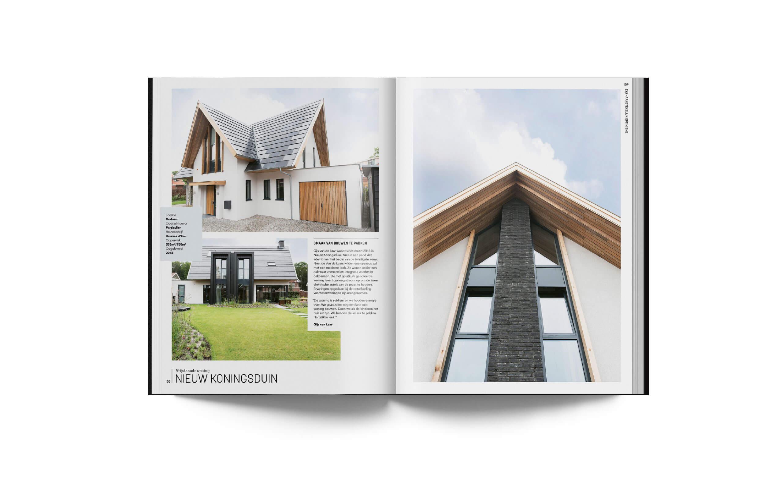 ZVA architecten jubileum boek