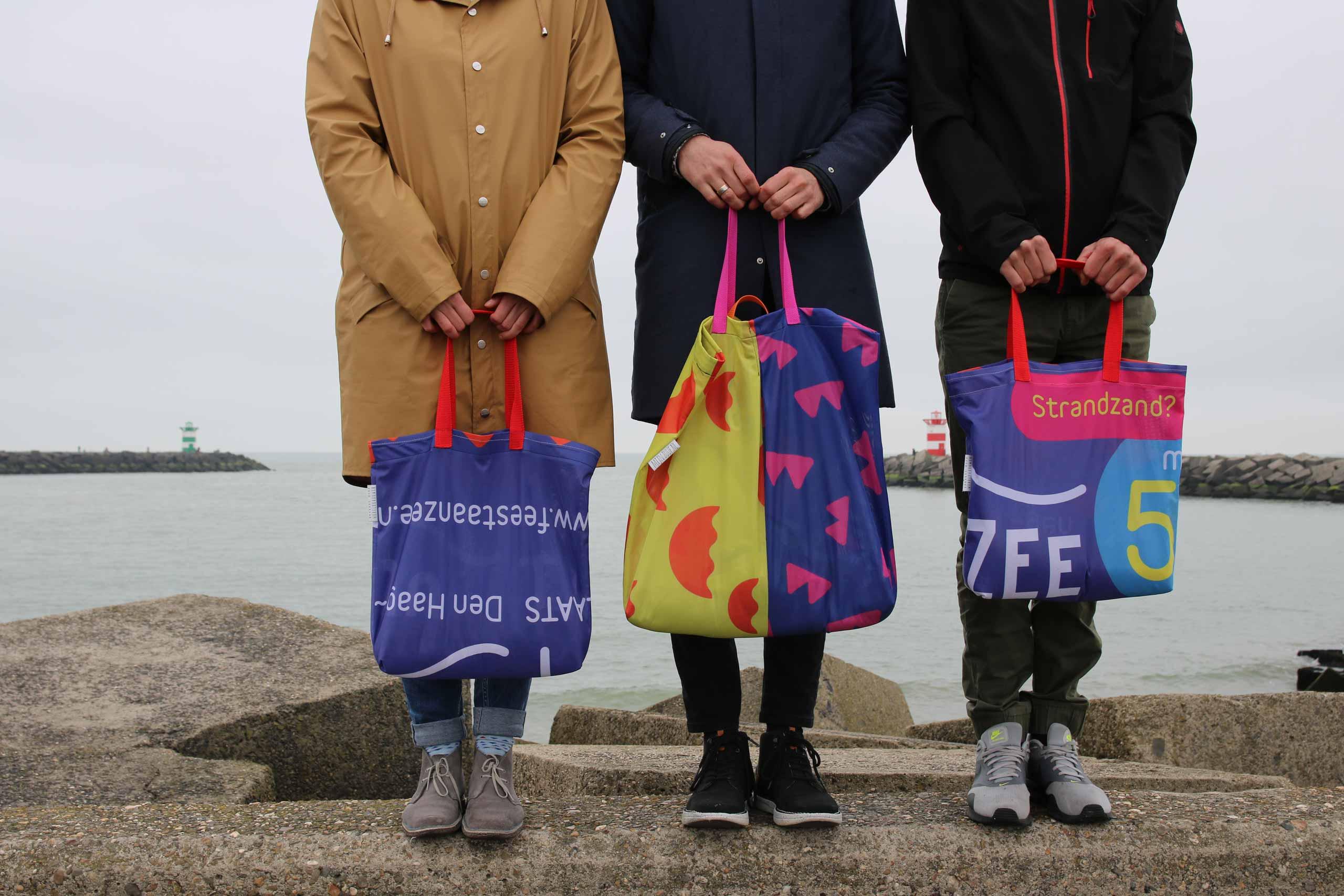Duurzaam karakter promotiematerialen Feest aan Zee