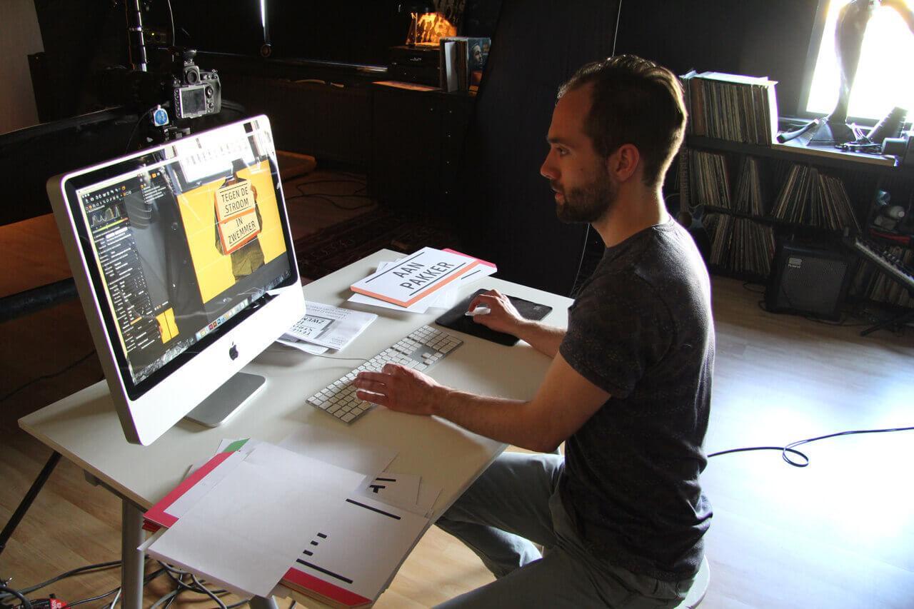 Making of meesterburger campagnebeeld