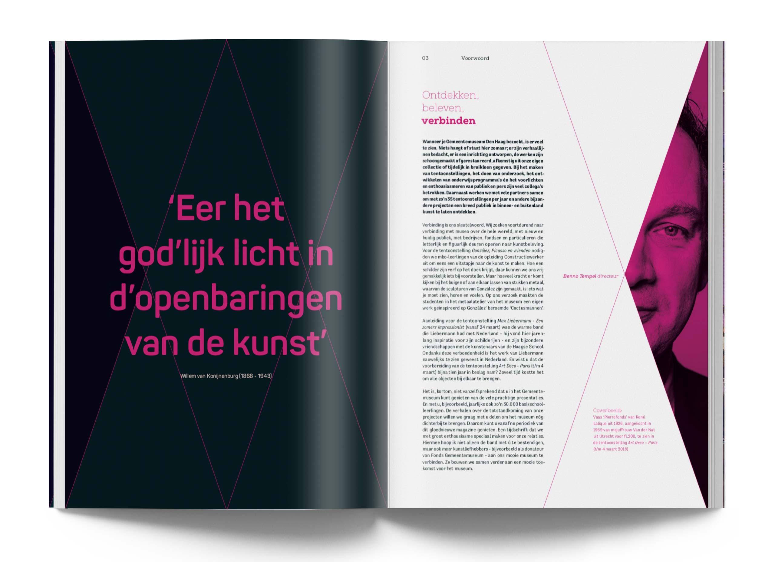 Kunstmuseum, Gemeente Museum Den Haag, Magazine, Studio Duel