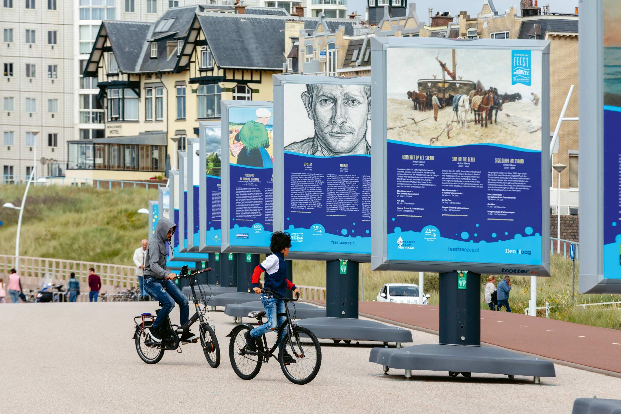 Boulevard expositie Feest aan Zee, Studio Duel