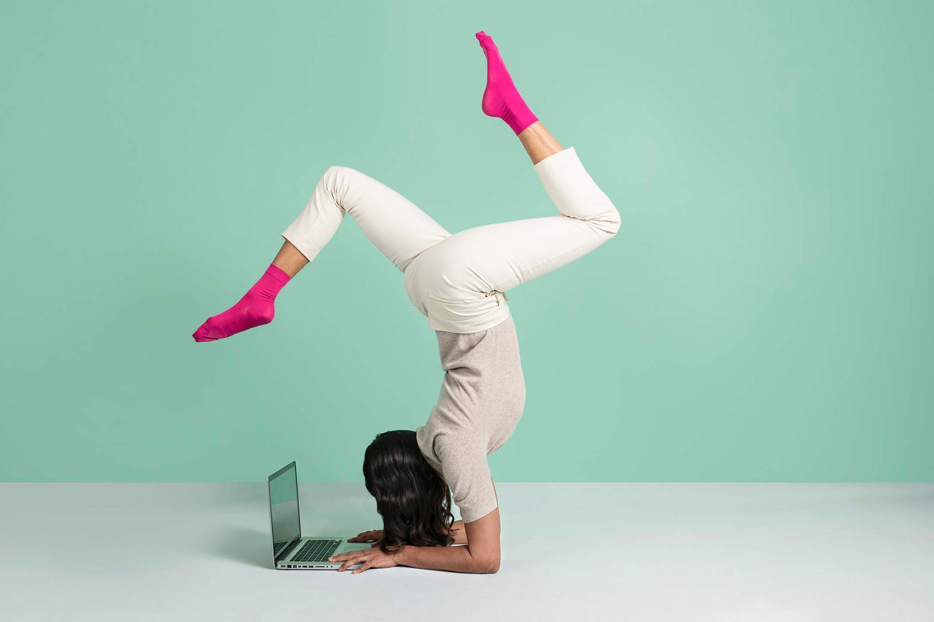 Duel Eteck photoshoot yoga