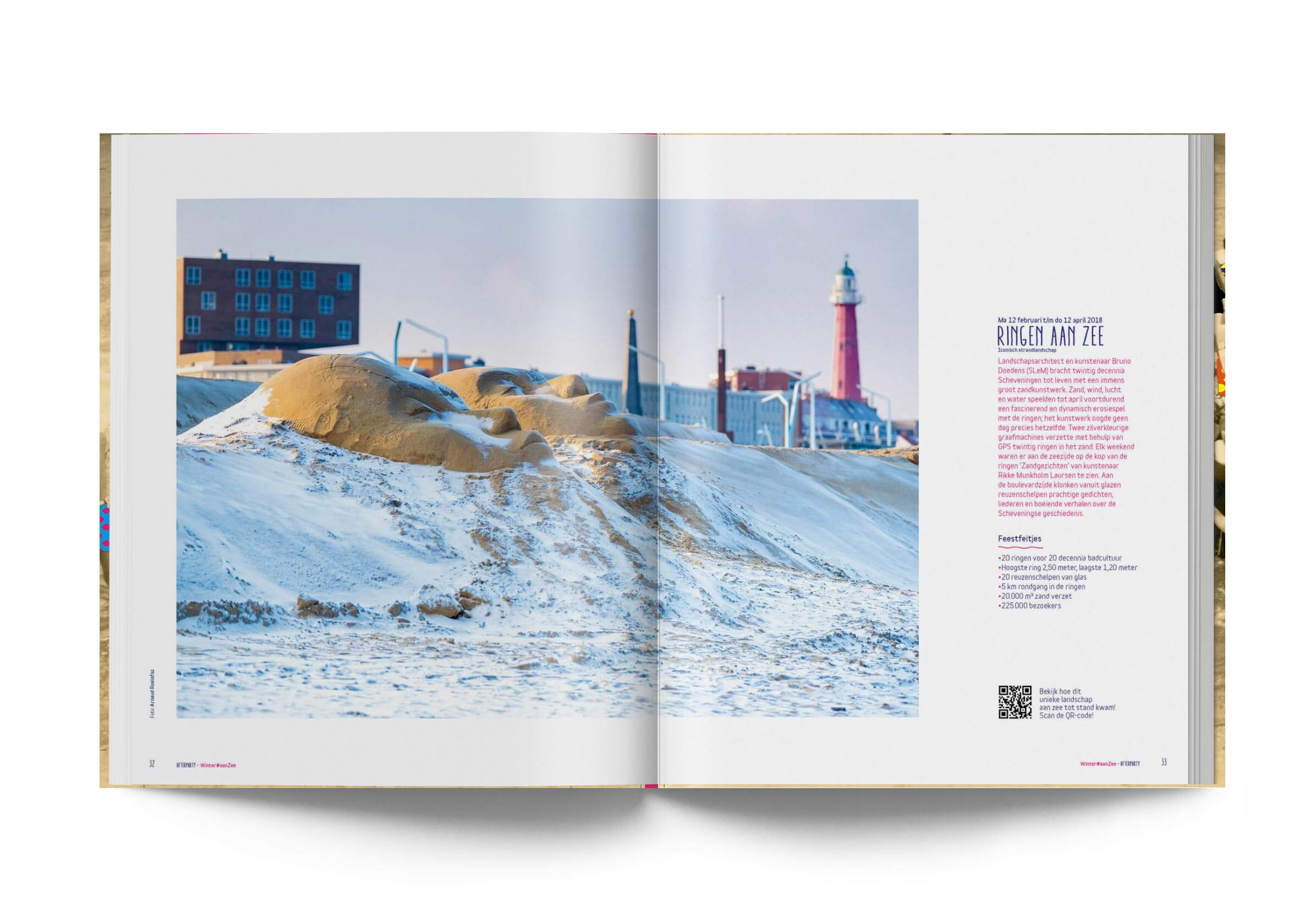 Jaarboek spread, Feest aan Zee, Studio Duel