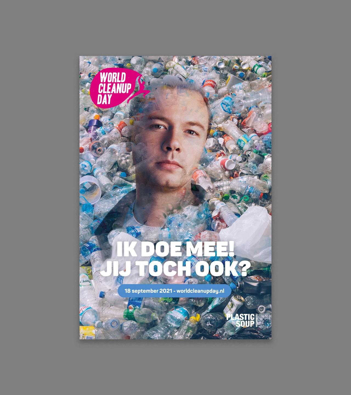 World Cleanup Day 2021 poster Sam Feldt