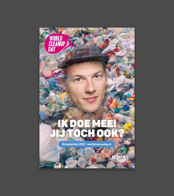 World Cleanup Day 2021 poster Sander Hoogendoorn