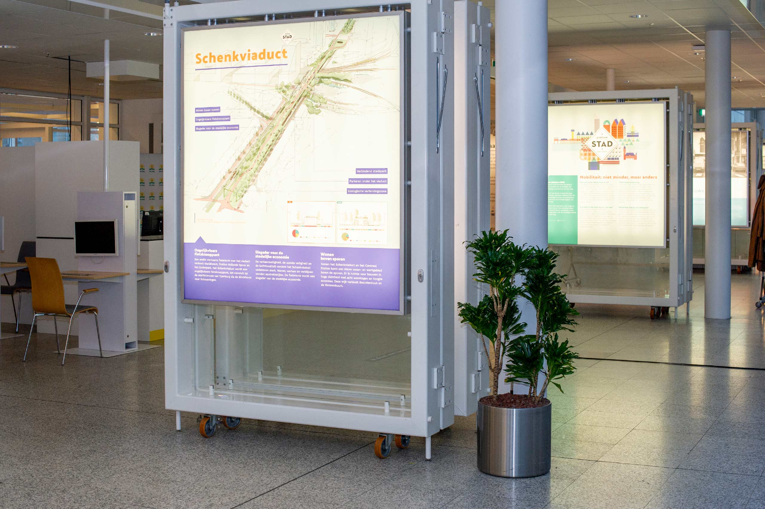 Platform STAD / expositie Mobiliteit